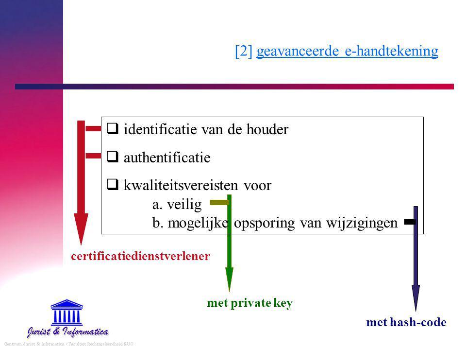 [2] geavanceerde e-handtekening